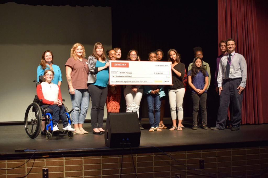 MENCHVILLE HIGH SCHOOL STUDENTS WON ONE OF FIVE GRAND PRIZES GIVEN BY LEAD4CHANGE
